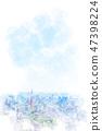 東京風景水彩風格 47398224