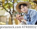 농부,농업,시골,청년,귀농,수확,재배,과일,사과 47400032