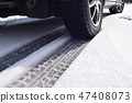 Studless tire for winter 47408073