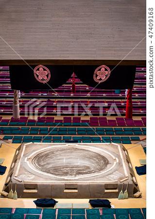 相撲相扣環和懸掛式屋頂 47409168