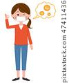 女性全身预防花粉热 47411436