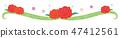 소재 - 어머니의 날 (카네이션 라인, 짧은) 25 47412561