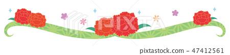 วัสดุ - วันแม่ (คาร์เนชั่นสายสั้น) 25 47412561