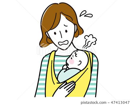 一個冷的嬰兒 47413047