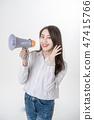젊은 여성, 여성, 대학생, 청춘, 청바지,  47415766
