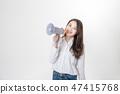 젊은 여성, 여성, 대학생, 청춘, 청바지,  47415768