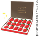 Strawberry mail order luxury gift 47419655