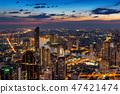 曼谷 泰国 都市的 47421474