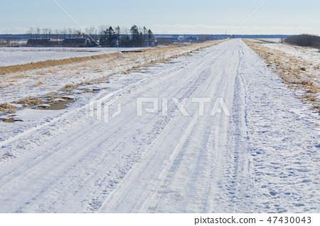 Hokkaido _ Ice Burn Frozen Road 47430043