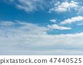 从飞机的窗口看到的蓝天 47440525