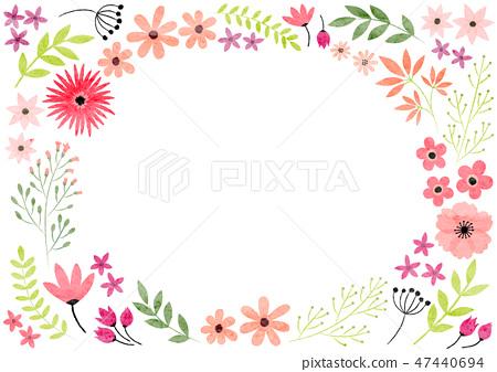 꽃 프레임 47440694