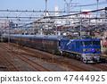 "Sleeping limited express ""Cassiopeia"" Tohoku main line (Utsunomiya line) Urawa ~ Akabane 47444925"