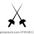 fencing icon 47454811