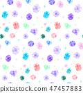 珠寶的無縫背景圖案 47457883