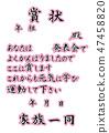 A certificate 47458820