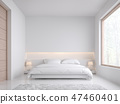 ห้องนอน,ห้อง,เตียง 47460401