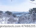 冬季松島日本三季雪 47466205