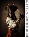 Portrait of a pirate 47466876