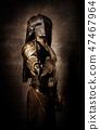 mask, fighter, knife 47467964