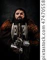 Portrait of a dwarf 47470558