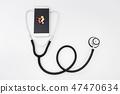 원격의료, 원격진료, 스마트폰과 청진기, 건강관리 47470634