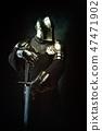 helmet, man, cross 47471902