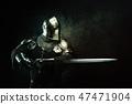 Portrait of a Templar 47471904