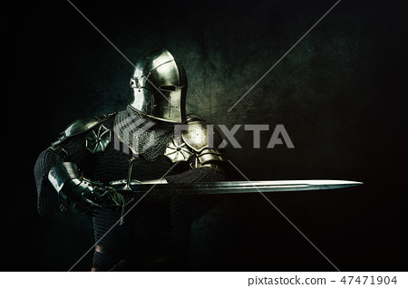 Portrait of a Templar 47471904