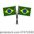 brazil flag 47472690