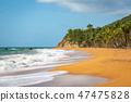 Flamenco Beach seaside shore Culebra Puerto Rico 47475828