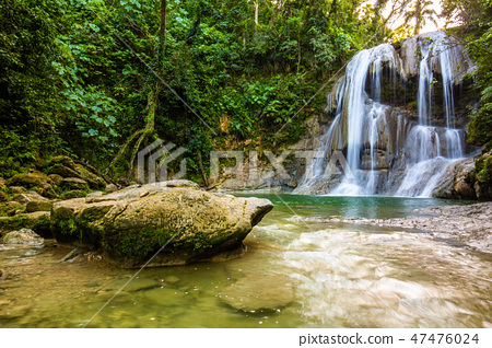 Gozalandia Waterfall in San Sebastian Puerto Rico 47476024