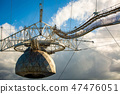 Radio telescope in Arecibo national observatory 47476051