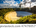 Radio telescope in Arecibo national observatory 47476057