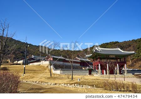 남한산성 행궁과 서울야경 47479434