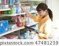 便利店职员项目女人妇女 47481239