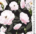 rose seamless pattern4 47481406