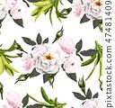 rose seamless pattern2 47481409