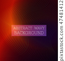 Abstract Wavy Background6 47481412