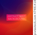 Abstract Wavy Background5 47481418