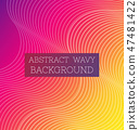 Abstract Wavy Background4 47481422