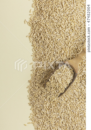 Healthy ingredients concept, lots of grains close-up isolated photo 083 47482004