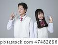 Life of high school students, senior school students concept photo 372 47482896