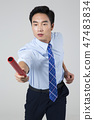 Businessman with various sports, business concept photo. 095 47483834