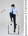 Businessman with various sports, business concept photo. 108 47483949