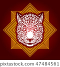猎豹 图形 图标 47484561