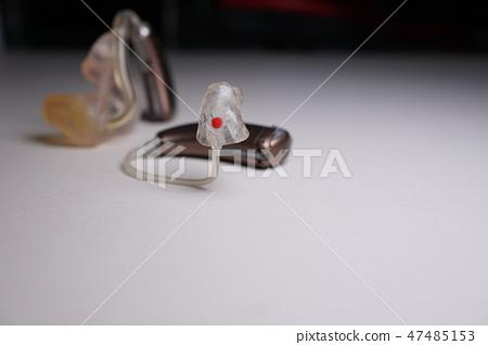 輔助助聽器,背景白色顏色 47485153