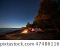 camping, beach, tent 47486116