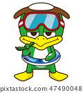 I can not swim Kappa 47490048