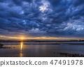 영종도,중구,인천시,일출,구름,흐림 47491978