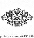 Halloween logo 47495996